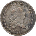 Early Half Dollars, 1795 50C 2 Leaves, Y Over Star, O-121a, T-2, R.6 -- Repaired --PCGS Genuine. VF Details.. ...