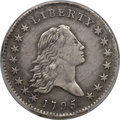 Early Half Dollars, 1795 50C 2 Leaves, O-116, T-11, R.4 -- Damaged -- PCGS Genuine. XFDetails....