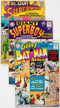 Silver Age (1956-1969):Superhero, DC Annuals and 80 Page Giants Group of 18 (DC, 1960s) Cond...