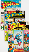 Silver Age (1956-1969):Superhero, Superman Annual #3-8 Group (DC, 1961-63) Condition: AverageVG/FN.... (Total: 6 Comic Books)