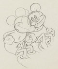 Animation Art:Production Drawing, Puppy Love Mickey and Minnie Mouse Animation Drawing (WaltDisney, 1933). ...