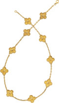 Estate Jewelry:Necklaces, Gold Necklace, Van Cleef & Arpels. ...