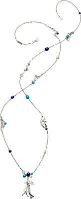 Diamond, Multi-Stone, White Gold Necklace, Van Cleef & Arpels, French
