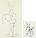 Animation Art:Production Drawing, Bugs Bunny & Clyde Production Drawings (WarnerBrothers,1960s)... (Total: 2 Original Art)