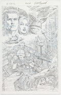 Original Comic Art:Miscellaneous, Joe Bennett Sigil Original Preliminary Artwork (CrossGenComics, c. 2000s)....