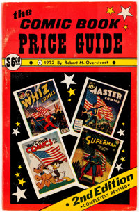 Overstreet Comic Book Price Guide #2 Softcover (Gemstone, 1972) Condition: FN+