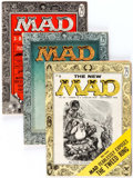 Magazines:Mad, MAD #25, 28, and 29 Group (EC, 1955-56).... (Total: 3 Comic Books)