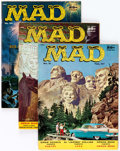 Magazines:Mad, MAD Group of 4 (EC, 1957) Condition: Average VF-.... (Total: 4Comic Books)