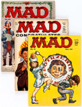 Magazines:Mad, MAD #51-70 Group of 20 (EC, 1959-62) Condition: Average FN....(Total: 20 Comic Books)