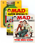 Magazines:Mad, MAD Magazine Group of 31 (EC, 1968-77) Condition: Average VG+....(Total: 31 Comic Books)
