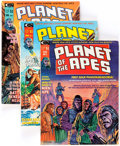 Magazines:Science-Fiction, Planet of the Apes Plus Group of 14 (Marvel, 1974-76) Condition: Average VG+.... (Total: 14 Comic Books)