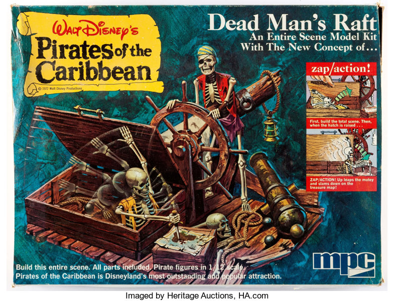 Walt Disney's Pirates of the Caribbean Model Kits Group of 2