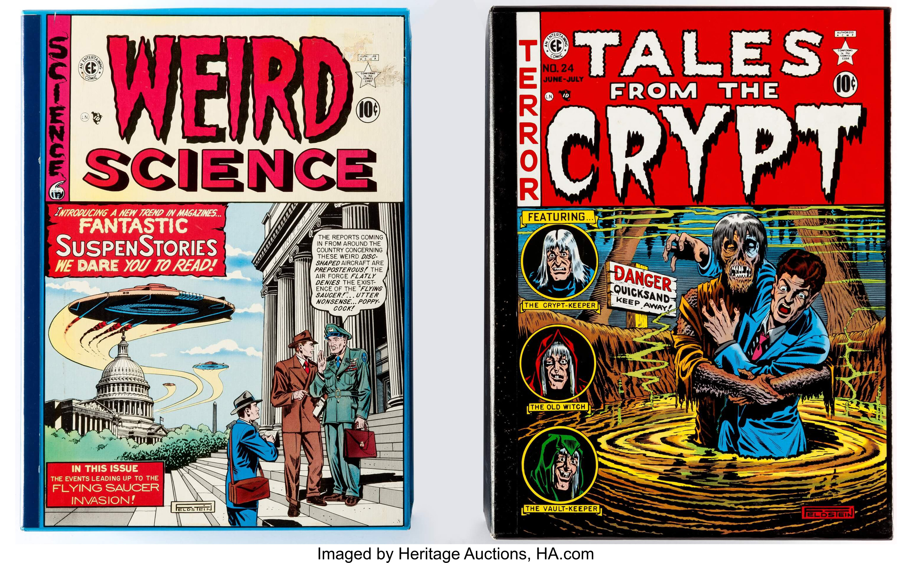 EC Weird Science and Tales from the Crypt Collection Box Set
