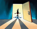 Animation Art:Painted cel background, The Ren & Stimpy Show Ren Master Painting Original Art(Games Animation, 1994)....
