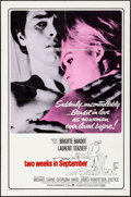 "Movie Posters:Foreign, Two Weeks in September (Paramount, 1967). One Sheet (27"" X 41""). Foreign.. ..."