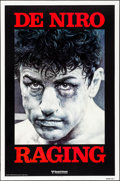 "Movie Posters:Drama, Raging Bull (United Artists, 1980). Rolled, Very Fine. One Sheet(27"" X 41"") Advance. Kunio Hagio Artwork. Drama.. ..."