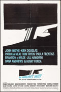 "Movie Posters:Animation, In Harm's Way (Paramount, 1965). One Sheet (27"" X 41"") Saul Bass Artwork. War.. ..."