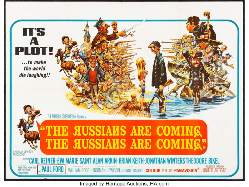 Movie Posterscomedy The Russians Are Coming The Russians Are Coming