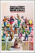 "Movie Posters:Foreign, Orchestra Rehearsal (New Yorker Films, 1978). One Sheet (27"" X 41""). Foreign.. ..."