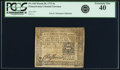 Colonial Notes:Pennsylvania, Pennsylvania March 20, 1773 6 Shillings Fr. PA-160. PCGS ExtremelyFine 40.. ...