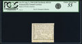 Colonial Notes:Pennsylvania, Pennsylvania Bank of North America August 6, 1789 1 Penny or $1/90Fr. PA-273, Haxby PA-465 G8, Newman page 364. PCGS Choice ...