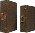 Decorative Arts, French, Two Louis Vuitton Classic Monogram Hard Suitcases. 18-1/4 x 27-1/2x 8-1/8 inches (46.4 x 69.9 x 20.6 cm) (larger). ... (Total: 2Items)