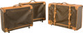 Decorative Arts, French:Other , Three Louis Vuitton Classic Monogram Soft Suitcases
