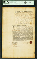 Colonial Notes:Pennsylvania, Pennsylvania - Bond to the Trustees of the General Loan Office ofthe Province of Pennsylvania for 139 Pounds 10 Shillings Se...
