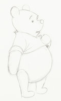 Animation Art:Production Drawing, Winnie the Pooh Animation Drawings Original Art Group of 18 (Walt Disney, c. 1960s-70s).... (Total: 18 Original Art)