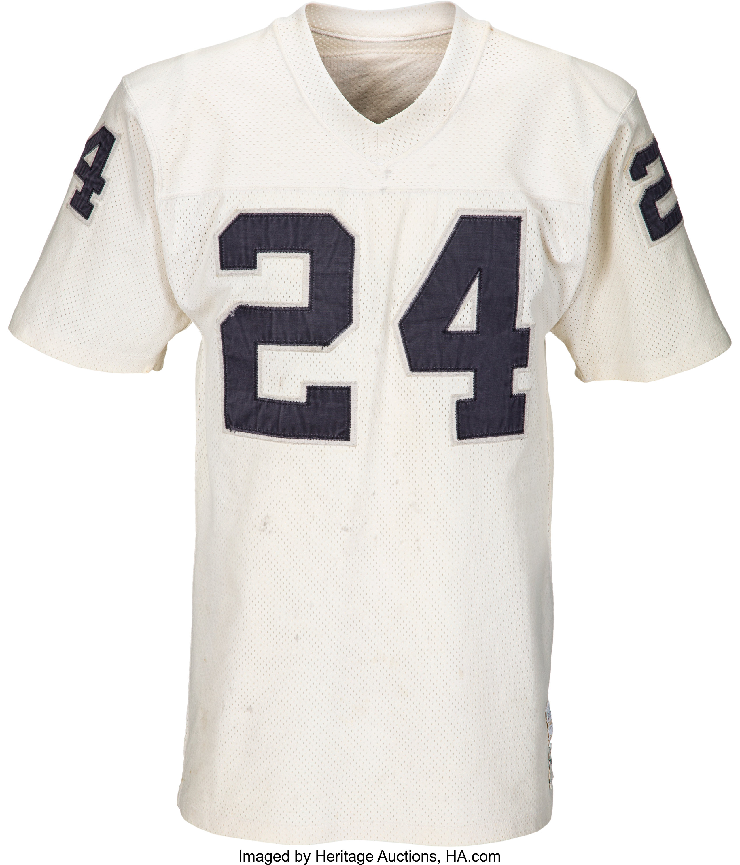 huge selection of 86f93 343d9 1970's Willie Brown Game Worn Oakland Raiders Jersey ...