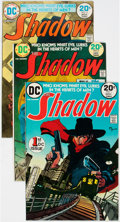 Bronze Age (1970-1979):Miscellaneous, The Shadow Group of 8 (DC, 1973-74) Condition: Average VF+....(Total: 8 Comic Books)
