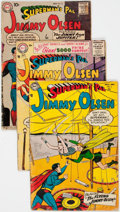 Silver Age (1956-1969):Superhero, Superman's Pal Jimmy Olsen Group of 10 (DC, 1954-62) Condition:Average GD.... (Total: 10 Comic Books)