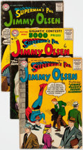 Silver Age (1956-1969):Superhero, Superman's Pal Jimmy Olsen Group of 11 (DC, 1956-62) Condi...