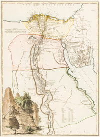 [Africa]. Herman Moll and others. Group of Three Maps of Africa. [London and elsewhere: circa 1720-1780s]. Original m...