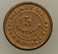 Colombia, Colombia: Lazareto (Leper Colony) Quartet of Assorted Issues,...(Total: 4 coins)