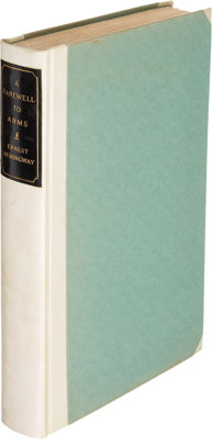 Ernest Hemingway. A Farewell to Arms. New York: Charles Scribner's Sons, 1929. First edition, l