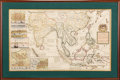 Books:Maps & Atlases, Herman Moll. A Map of the East-Indies and the Adjacent Countries... London: circa 1710. Original large-format map....