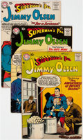 Silver Age (1956-1969):Superhero, Superman's Pal Jimmy Olsen Group of 12 (DC, 1957-62) Condi...