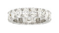 Estate Jewelry:Rings, Diamond, Platinum Eternity Band  The eternity ...