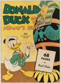 Golden Age (1938-1955):Cartoon Character, Four Color #29 Donald Duck (Dell, 1943) Condition: Apparent VG....