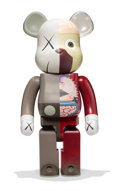 Collectible, KAWS X BE@RBRICK. Dissected Companion 1000%, 2008. Painted cast vinyl. 28 x 13-1/4 x 9-1/2 inches (71.1 x 33.7 x 24.1 cm...