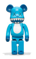 Fine Art - Sculpture, American:Contemporary (1950 to present), KAWS X BE@RBRICK. Chompers 1000%, 2003. Painted cast vinyl. 28 x 13-1/4 x 9-1/2 inches (71.1 x 33.7 x 24.1 cm) (toy). St...