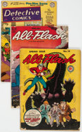 Golden Age (1938-1955):Miscellaneous, Golden Age Miscellaneous Reading Copies Group of 10 (Various Publishers, 1940s-60s) Condition: Average PR.... (Total: 10 Comic Books)