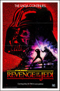 "Movie Posters:Science Fiction, Revenge of the Jedi (20th Century Fox, 1982). One Sheet (27"" X 41"") Advance Dated Style. Science Fiction.. ..."