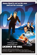 """Movie Posters:James Bond, Licence to Kill (UIP, 1989). Rolled, Very Fine. International One Sheet & One Sheet (27"""" X 41"""") Teaser. James Bond.. ... (Total: 2 Items)"""