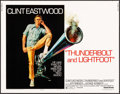 """Movie Posters:Crime, Thunderbolt and Lightfoot (United Artists, 1974). Half Sheet (22"""" X28""""). Crime.. ..."""