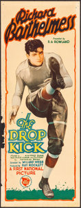 """Movie Posters:Sports, The Drop Kick (First National, 1927). Insert (14"""" X 36""""). Sports.. ..."""