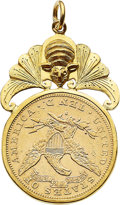 Estate Jewelry:Pendants and Lockets, Gold Coin, Gold Pendant. ...