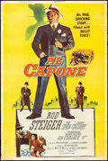 "Movie Posters:Crime, Al Capone (Allied Artists, 1959). Poster (40"" X 60"") Reynold BrownArtwork. Crime.. ..."