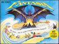 "Movie Posters:Animation, Fantasia (Walt Disney, R-1982). British Quad (30"" X 40"").Animation.. ..."